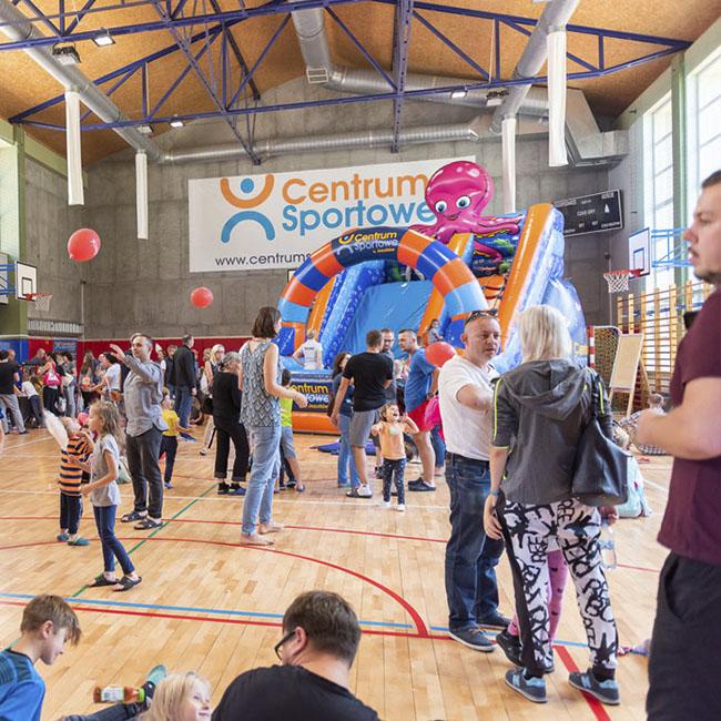 sala sportowa dla dzieci gdynia